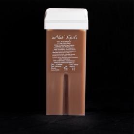 Cire épilation au chocolat, roulette large